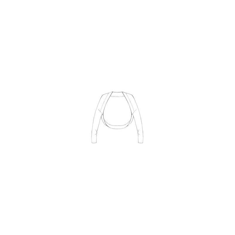 Sarabanda 0M422 Girl White Shoulder Covers