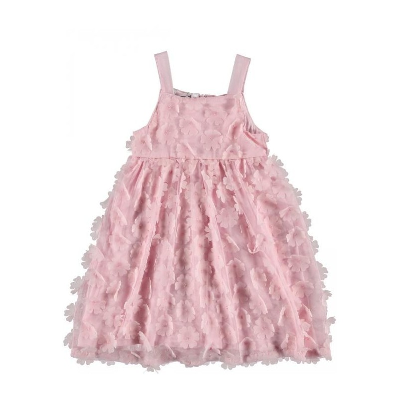Sarabanda 0I243 Baby Suspender Dress