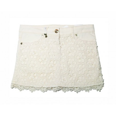 Sarabanda 0M444 Beige Girl Lace Skirt